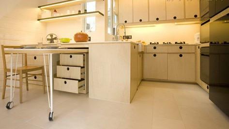 公寓节省空间设计