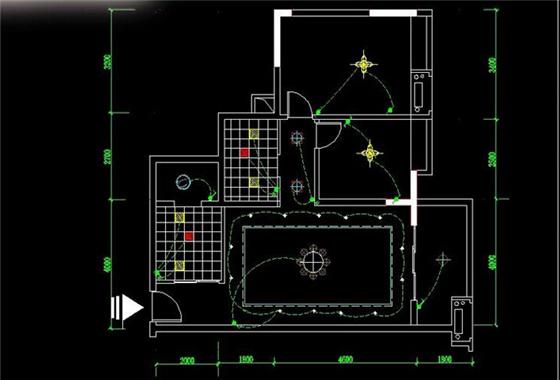 装修防骗详解CAD家装水电施工图 装修学堂 苏皖e装修 -详解CAD家高清图片